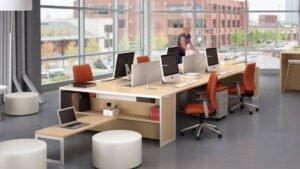 Cách chọn bàn làm việc văn phòng chuyên nghiệp và hợp thẩm mỹ