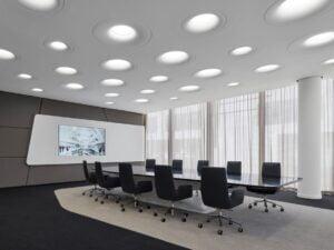 Cách thiết kế nội thất phòng họp tạo cảm hứng trong công việc