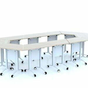 Bàn đơn V góc (ghép modul) TG40 1260V