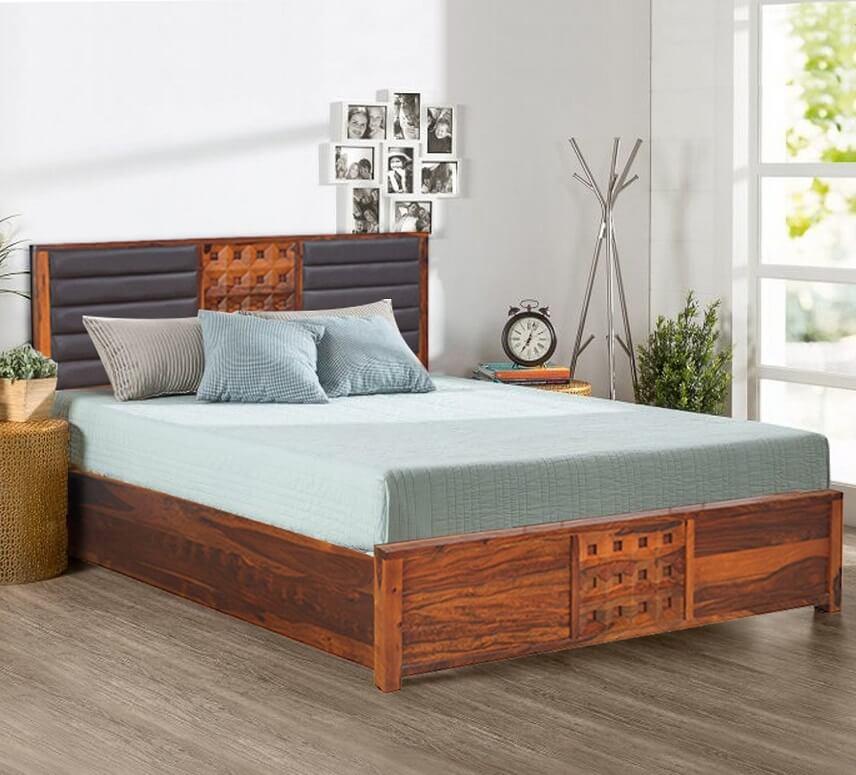Ứng dụng của gỗ óc chó dùng làm giường ngủ