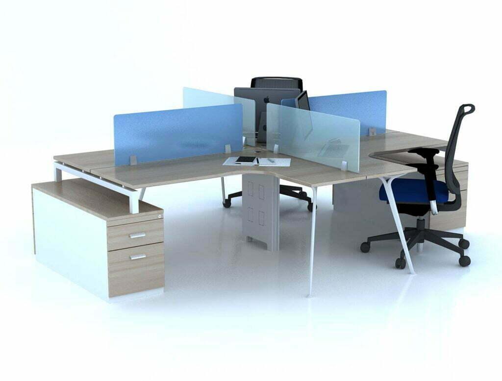 Nên chọn bàn làm việc chân sắt giá rẻ hay chân gỗ?