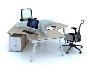 5 tiêu chí cần lưu ý khi chọn mua bàn làm việc nhân viên văn phòng